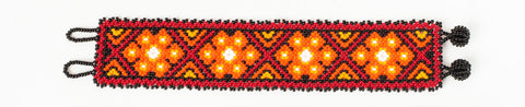 "Beaded bracelet ""Siete Puntos""   (Short)"