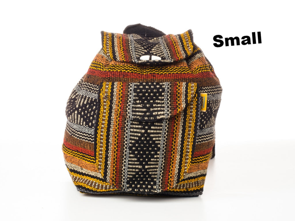 Classic Mexican backpack (Small/Brown)