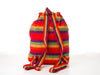 Classic Mexican backpack (Large/Red)