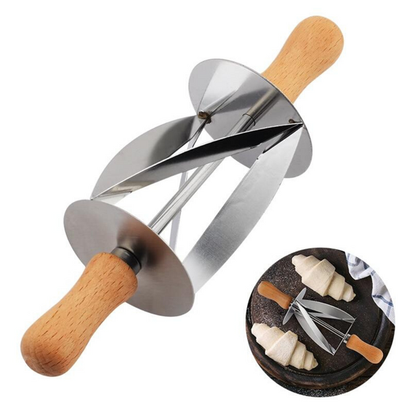 Rolling Croissant Cutter - The Helpful Kitchen