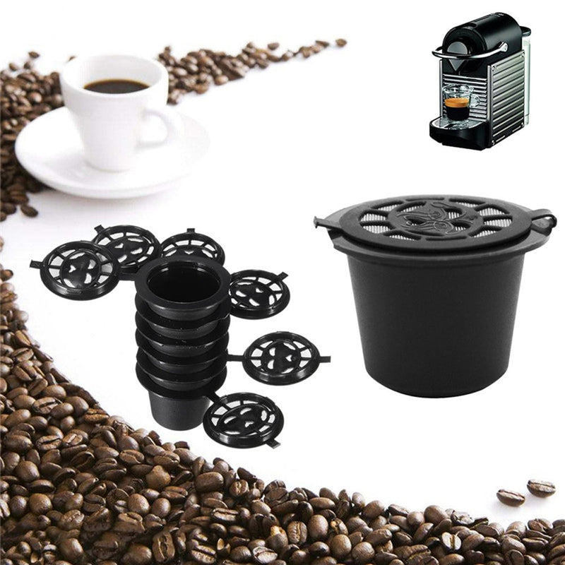 6PCS Reusable Coffee Pods for Nespresso - The Helpful Kitchen