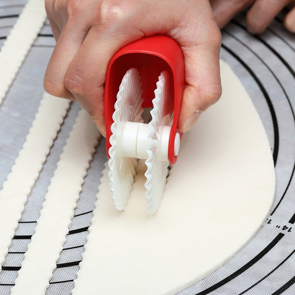 Pastry Dough Lattice Rollers - The Helpful Kitchen