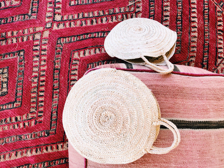 Material and Weaving rugs