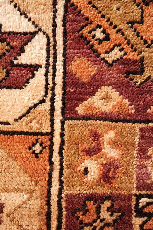 Vintage complex Zemmour Rug 12.46 ft x 4.26 ft - moroccan boho rugs