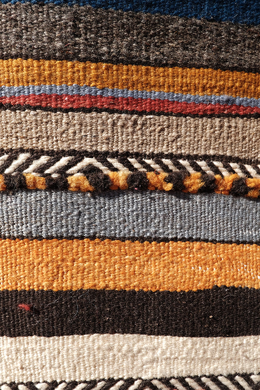 Small Moroccan Tribal Kilim  3.28 ft x 2.09 ft - moroccan boho rugs