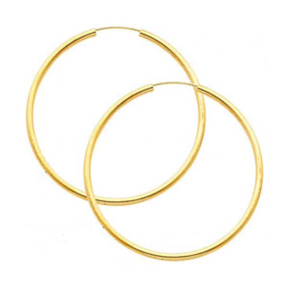 14k Yellow Gold 2.0MM Endless