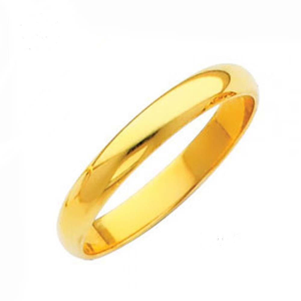 14k Yellow Gold Classic Band - Traditional