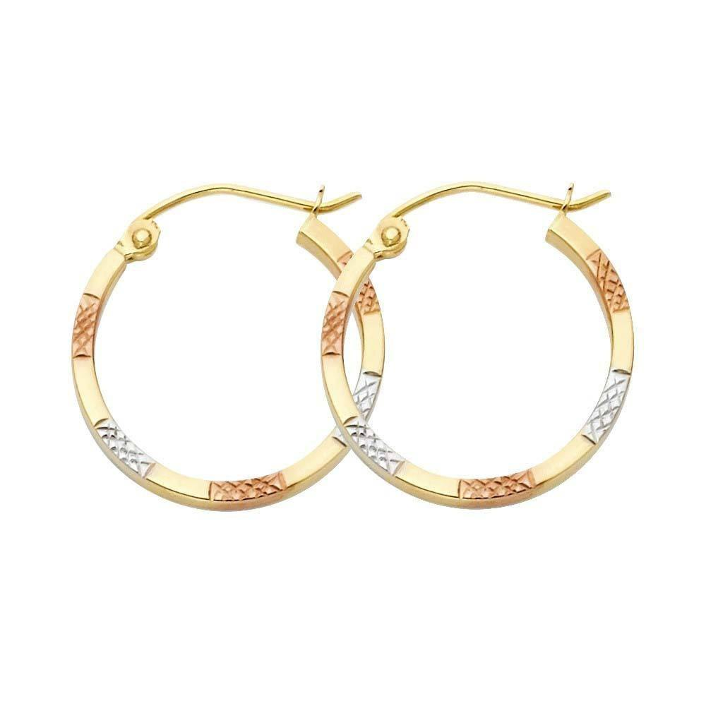 Square D/C Hoop Earrings