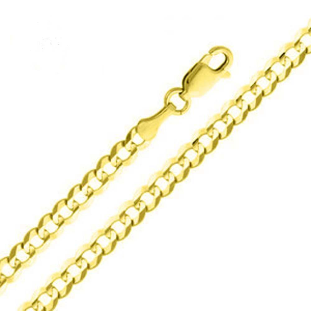 14k Yellow Gold - Cuban Curb Chain