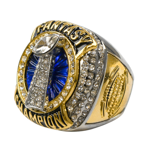 Fantasy Football 2020 Champion Ring - Blue