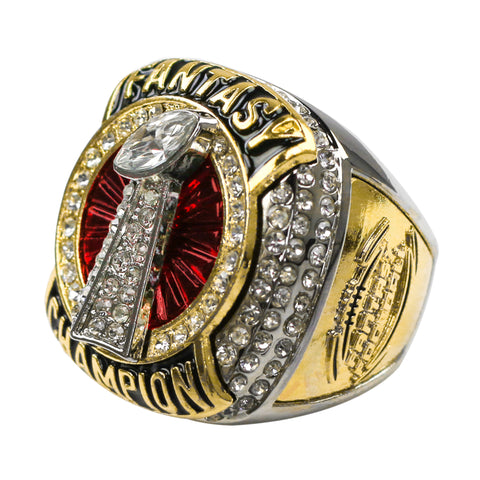 Fantasy Football 2020 Champion Ring - Red
