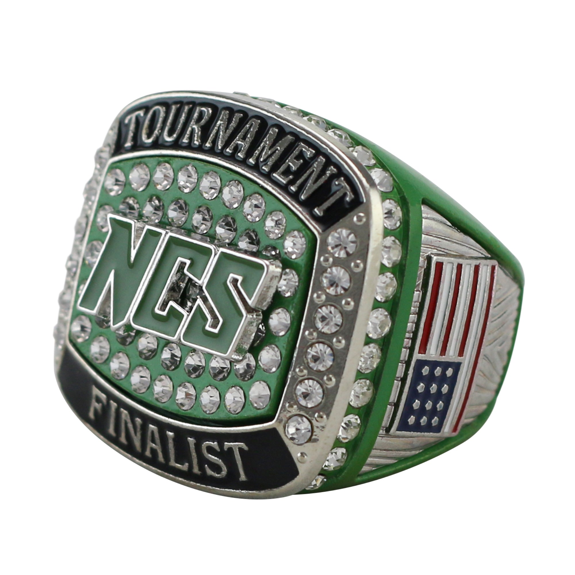 Metallic Shamrock Finalist Ring (64 in stock)