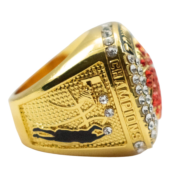 Basketball Tournament Champion Ring - Gold
