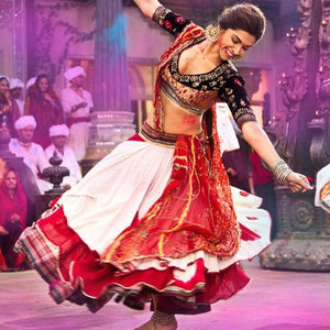faldas de baile bollywood india