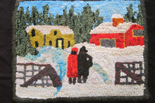 "Load image into Gallery viewer, Maud Lewis ""Winter Visit"""