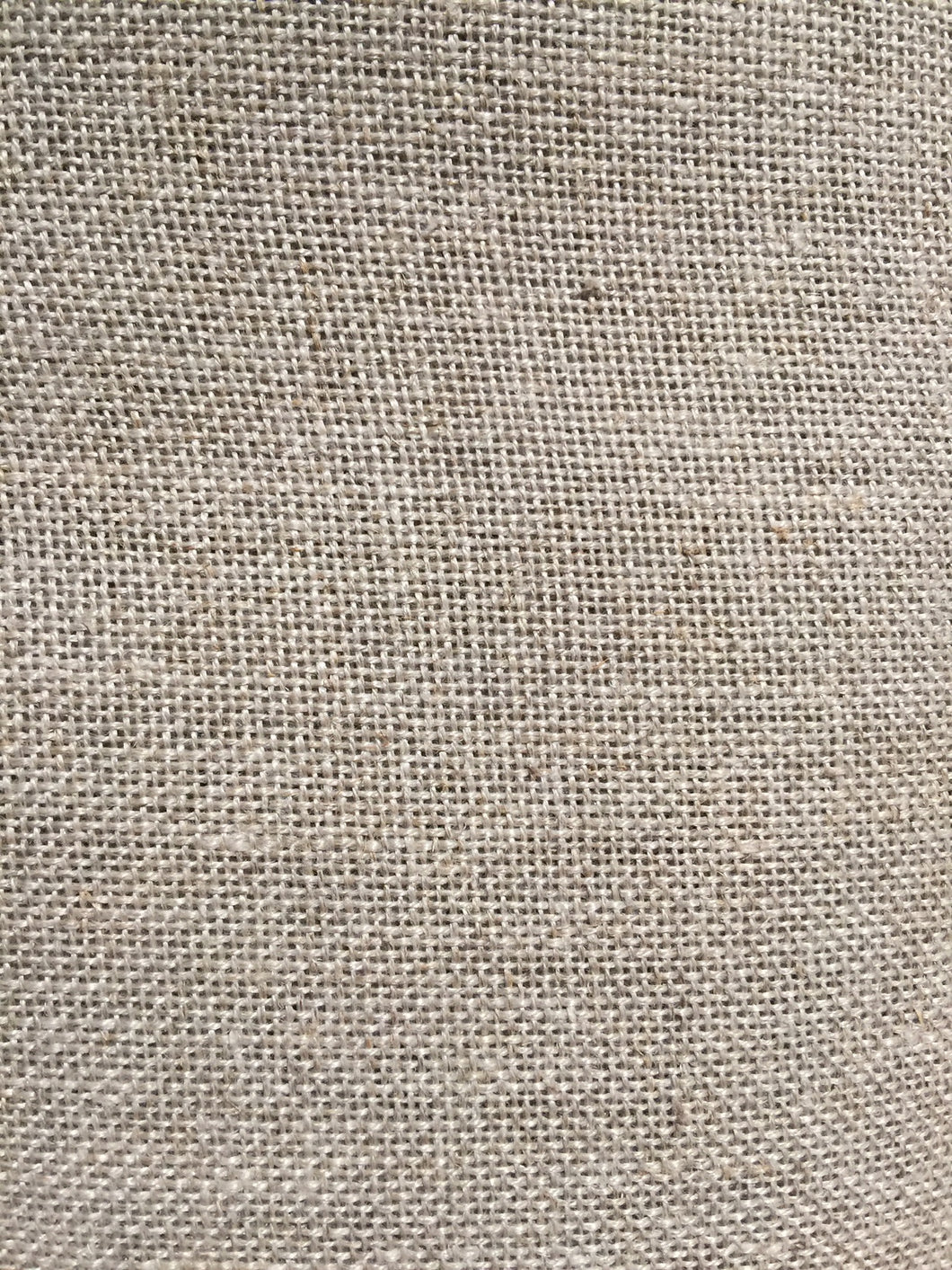 Traditional linen backing