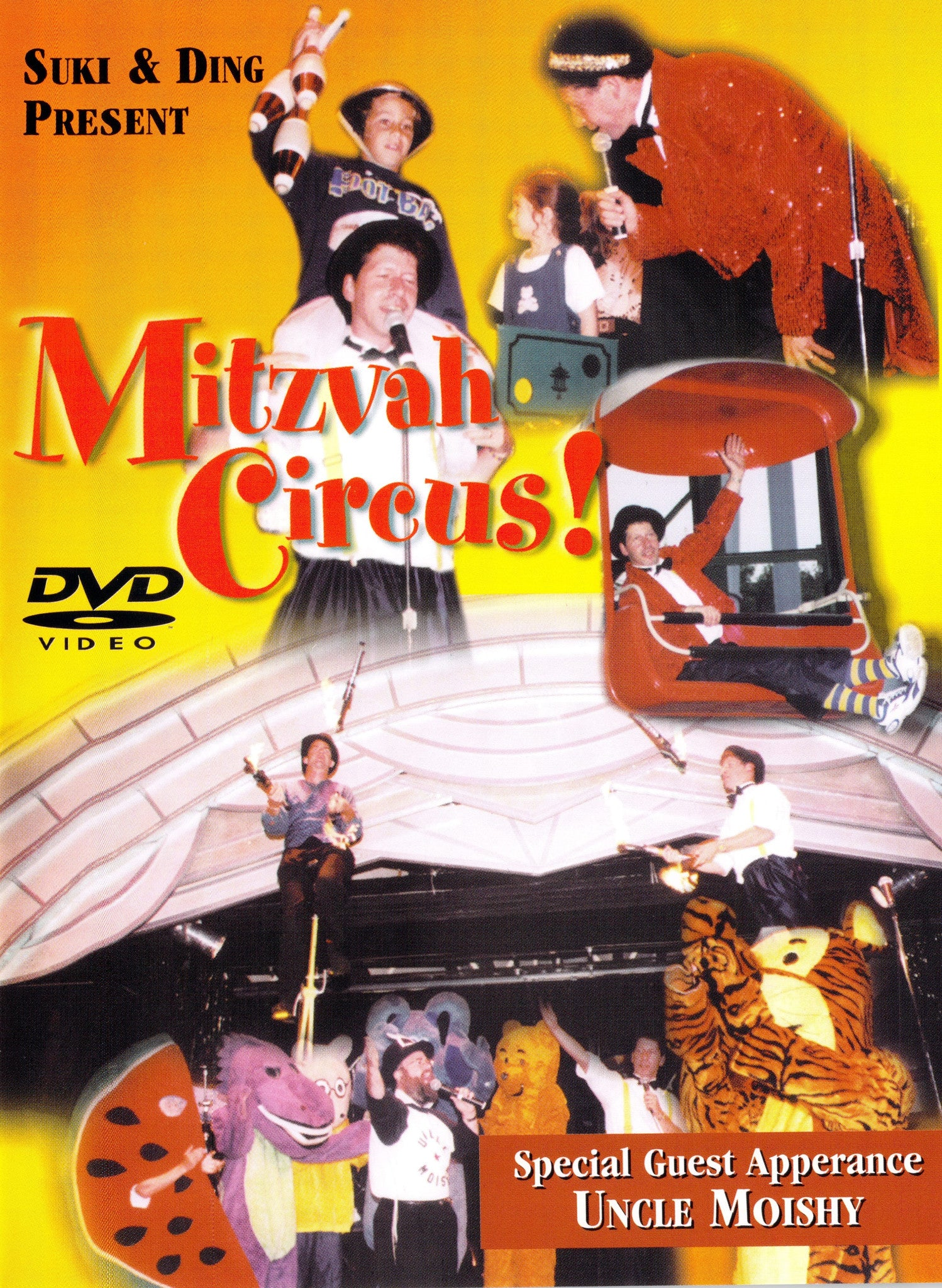 Uncle Moishy - The Mitzva Circus DVD