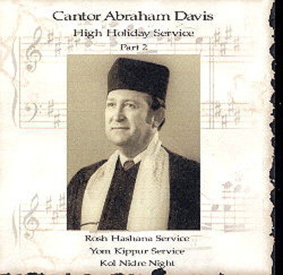 Cantor Avraham Davis - High Holidays Set