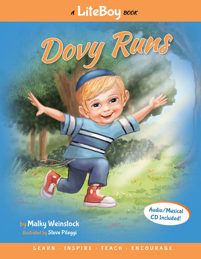 Lite Boy #1 - Dovy Runs (Book & CD)