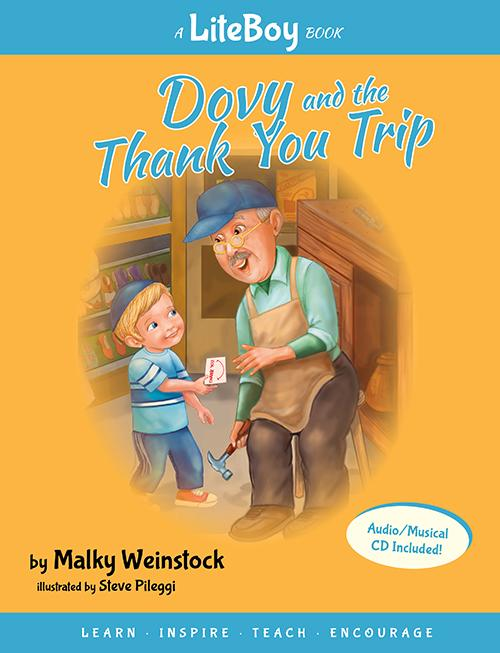 Lite Boy Book - Dovy and the Thank You Trip