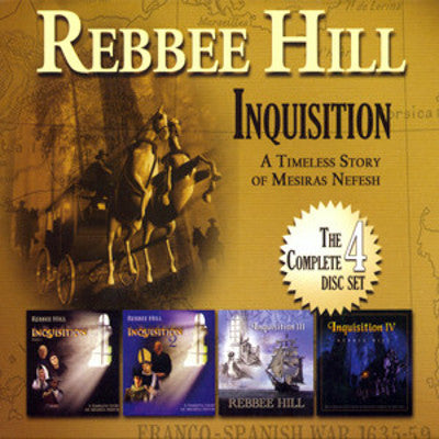 Rebbee Hill - Inquisition Parts 1-IV