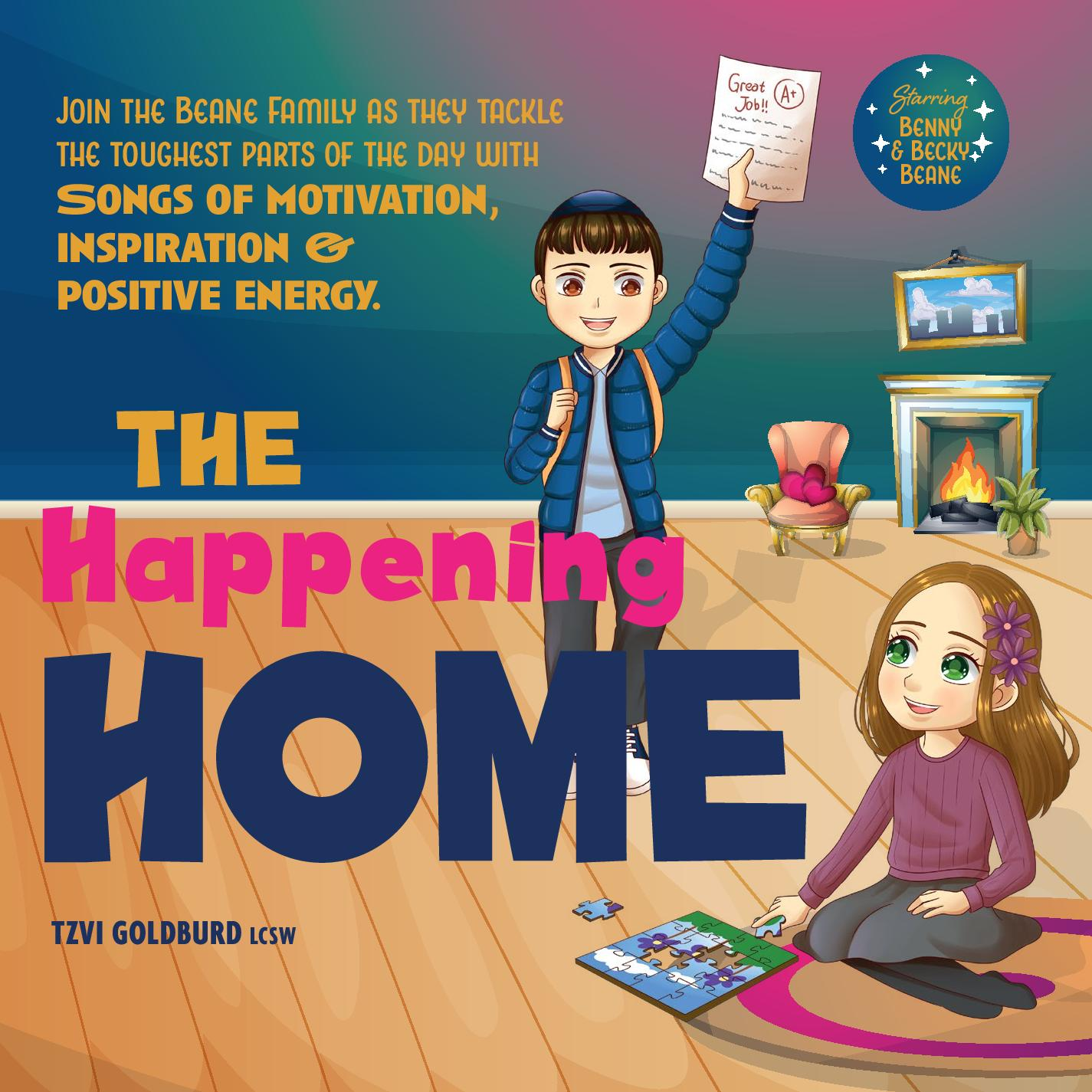 Tzvi Goldburd (LCSW) - The Happening Home
