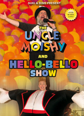 Uncle Moishy - with Hello Bello DVD