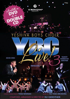 Yeshiva Boys Choir - YBC LIVE 3 - CD