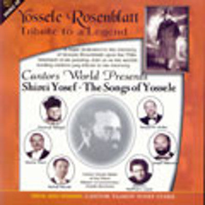 Various Cantors - Tribute To Yossele Rosenblatt