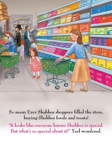 Lite Girl #8 - Yael and the Shabbos Treats