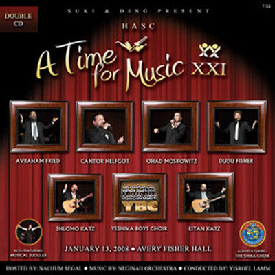 HASC - A Time for Music 21 - CD