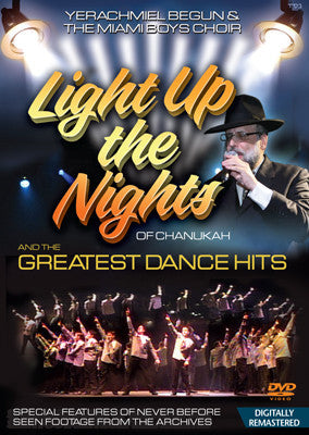 Yerachmiel Begun and The Miami Boys Choir - Light Up the Nights DVD