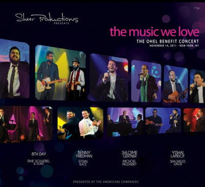 Ohel Concert 2011 - The Music We Love - CD - DVD