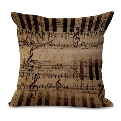Music Note Pillow Cases