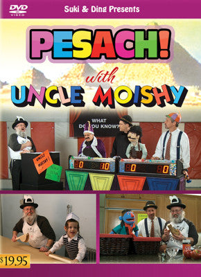 Uncle Moishy - Uncle Moishy DVD Pesach