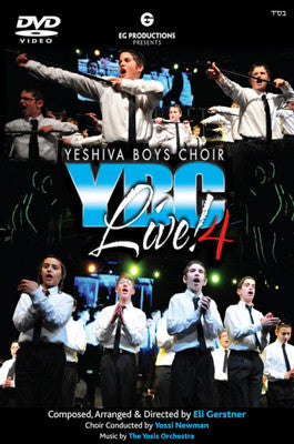 Yeshiva Boys Choir - YBC LIVE 4 - CD