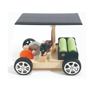 Wooden Solar Car Kit - Why2Wise