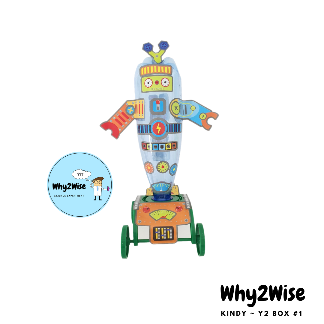 [Online Learning] K~Y2 Science Box #1 *pay with Creative Kids - Why2Wise