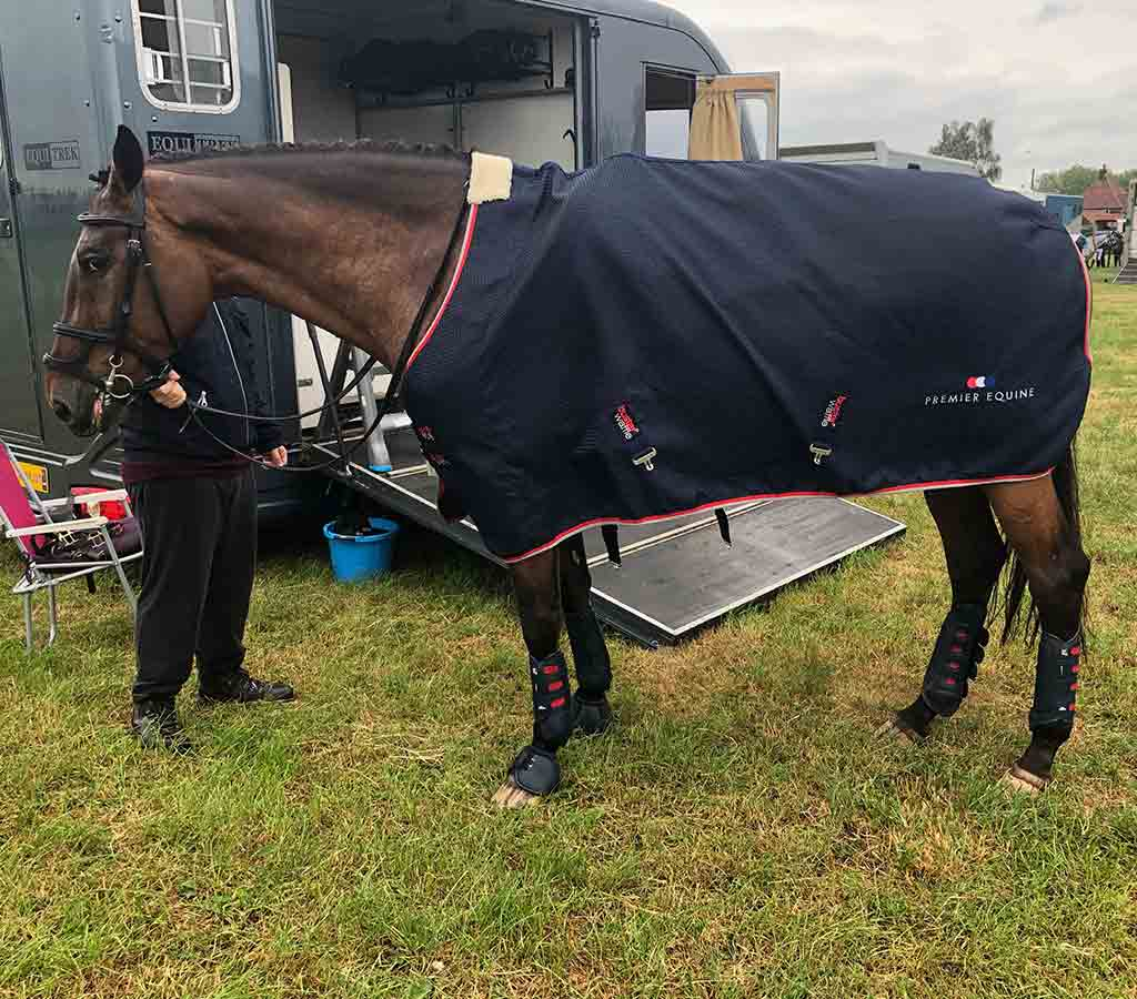 Carbon Tech Air Cooled Eventing Boots - a day in the life blog