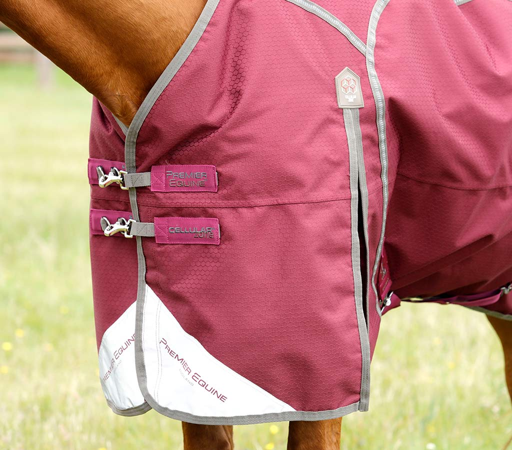 Cellular Zone 250 Turnout Rug with Neck Cover