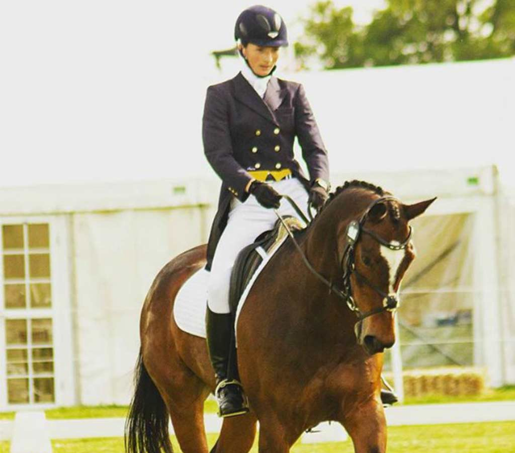 Brier Leahy Riding Dressage