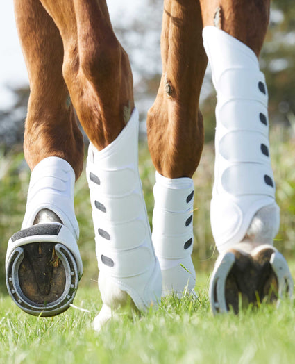 air cooled eventing boots - white - look book image - desktop version