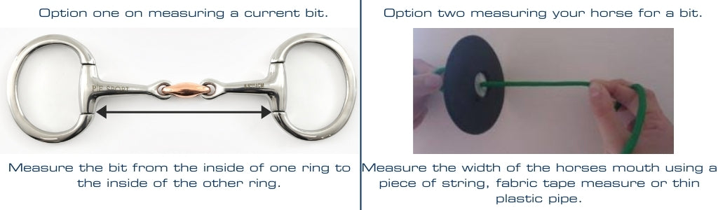 How to measure for the correct size horse bit