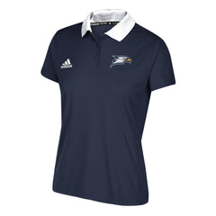 Georgia Southern Eagles Ladies 2017 adidas Game Built Coaches Polo - Navy