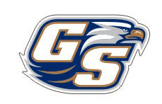 "Ga Southern GS Logo Reflective 4"" Decal"