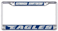 Georgia Southern Eagles Metal Domed Plate Frame