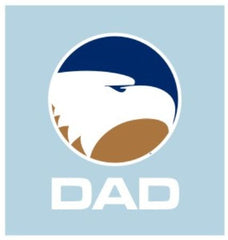 Georgia Southern 5in Die Cut Academic DAD Decal