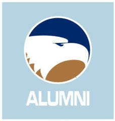 "Ga Southern Eagles Academic Logo ALUMNI 5"" Decal"