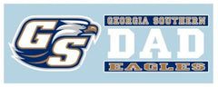 Georgia Southern Eagles Dad Decal