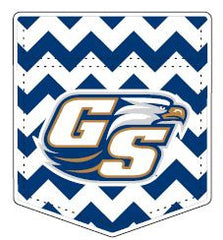 Georgia Southern Eagles Chevron Pocket Decal